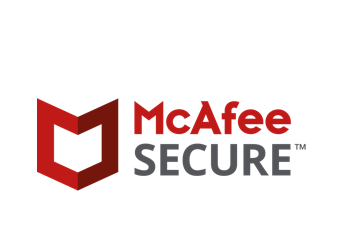 Trusted site by Mcafee